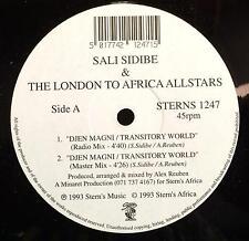 "Sali Sidibe & London To Africa Allstars - Djen Magni / Transitory World 12"" VG+"