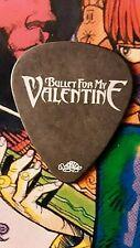 BULLET FOR MY VALENTINE Jason James 2010 tour guitar pick (black)  NEW LISTING!