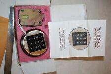 New Electronic Digital Keypad Amp Assembly Swing Bolt System Safe Lock Msl 400 Mes
