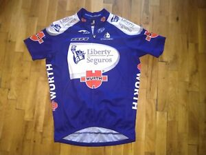 Etxeondo Special Cycling Jersey LIBERTY SEGUROS-Würth 2006 UCI Pro Tour Size L