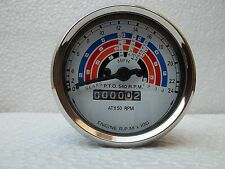Fordson Power Major / Super Major Tractor Tachometer / Tractormeter  Clockwise