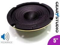 "HI-FI Replacement Speaker Cone Mid range Frequency 5"" 125mm 40W 8 Ohm Speaker 1"