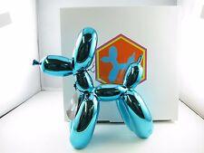 Balloon Dogs- Blue Metallic finish/ Home decor/ Fine craft/ Perfect gift