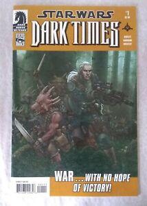 Star Wars: Dark Times #1 VF+; Dark Horse Comic Book