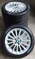 4 BMW Winterräder Styling 237 5er F10 F11 6er F06 F12 245/45 R18 100V 6775407