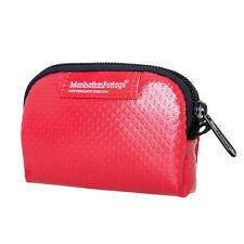 MANHATTAN Portage 1008-vl IMPERMEABILE Vinyal portamonete mini borsa accessori rosso