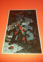 "Hellboy 25th Anniversary ""Buster Oakley Gets His Wish"" Variant! Signed  NM/Mint!"