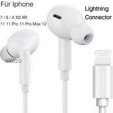 Kopfhörer für iPhone 7 8 X 11 12 XR Headset Mic in ear EarPods Pro Max