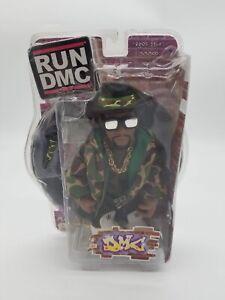 """Run DMC Mezco """"DMC"""" 7"""" Action Figure Rare Camo Japanese Exclusive NIB NEW 2002"""