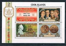 Cook Is 1970 Royal Visit M.S.SG331 MNH