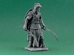 Tin toy soldier Dacian warrior. First Dacian War. Metall sculpture 54 mm