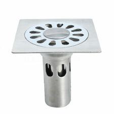 10x10x10cm Edelstahl Bodenablauf Duschablauf Duschrinne Küche Bad Garage