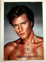 Duran Duran Simon Le Bon Large Vintage Poster