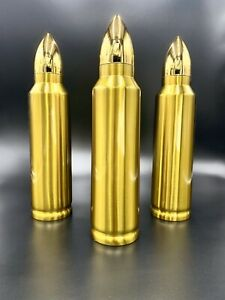 Realistic Bullet Shaped Thermos-Great Gift for Military, Police & Hunters.