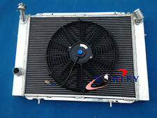 3 ROW Aluminum Radiator for HOLDEN COMMODORE VB VC VH VK V8 1979-1986 MT+14''FAN