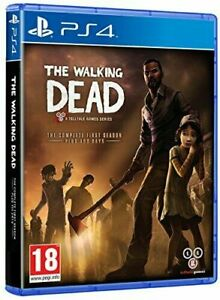 The Walking Dead The Complete First Season (Playstation 4 PS4) Great Condition