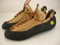 Men's 10.5 Women's 11.5 M La Sportiva Mythos Rock Crack Climbing Shoes Leather