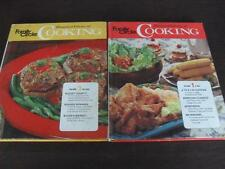 Family Circle Illustrated Library of Cooking Volumes 1 & 3 Budget Meals  Burgers