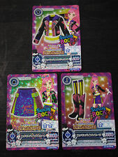 "Trading card of Japanese Animation ""AIKATSU"" Campaign Rockin' bison coordinate"