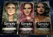 3 X Mellor & Russell Simply Pastel Aqua Splash, Lilac Haze & Forest Dew