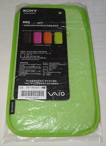 Sony VGP-CNC03 Slip Case BUNDLE - GREEN and BLACK. Combined Postage Rate