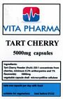 HIGH STRENGTH TART CHERRY 5000mg 365 capsules ANTIOXIDANT GOUT MUSCLE SORENESS