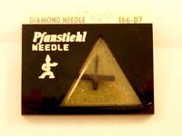 Pfanstiehl 166-D7 NOS record needle stylus aSTATIC N76-7S 7D 909D 2127D A3-707D