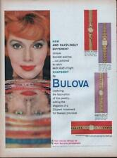 1959 Bulova PRINT AD Accutron Watch Ladies Models Dazzlingly Different Rhapsody