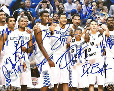 2014-2015 KENTUCKY WILDCATS SIGNED 8X10 TEAM PHOTO REPRINT MARCH MADNESS