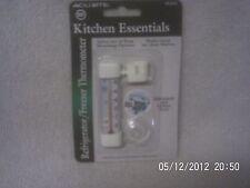 ACURite Kitchen Essentials Refrigerator/Freezer Thermometer