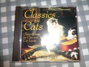 Classics for Cats, Various Artists, cd album,free p+p