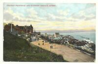 Postcard Canada Quebec Chateau Frontenac Dufferin Terrace Steam Ship View 1907