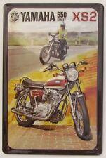 YAMAHA, BLECHSCHILD, MOTORRAD