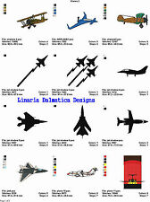 AIRPLANES/PLANES V.2(4x4) LD MACHINE EMBROIDERY DESIGNS