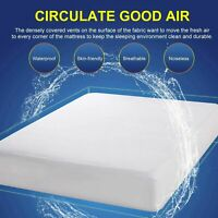 Cooling Gel Infused Memory Foam Mattress Urine-Proof Bed Cover Twin King Queen~