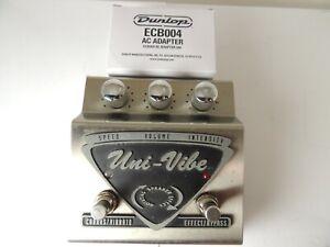 Dunlop UV-1 Uni-Vibe Stereo Chorus & Vibrato Effects Pedal Univibe w/Adapter