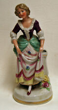 Vintage German Woman Germany Porcelain Figurine Figure