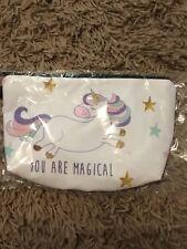 unicorn make up bag , pencil case , wash bag , toiletries bag travel