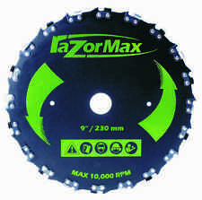 """Archer Razor Max Brushcutter  9"""" blade for trimmers with 1"""" & 20mm arbor"""