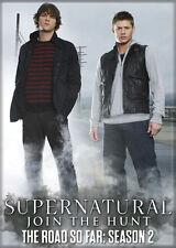 Supernatural (TV Series) Photo Quality Magnet: The Road So Far - Season 2