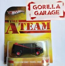Hot Wheels THE A TEAM CUSTOM GMC PANEL VAN RETRO ENTERTAINMENT SPECIAL PACKAGE