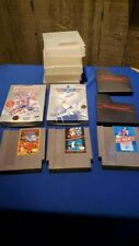 Nintendo NES Game Lot some complete in box sleeves cases