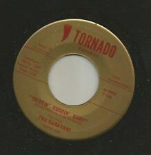 ROCKABILLY bw/ GARAGE SURF - CARAVANS- TWISTIN ROCKIN BABY -HEAR- 1965 TORNADO