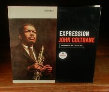 JOHN COLTRANE «EXPRESSION» SOUGHT-AFTER DeLuxe IMPULSE 1967»His Last LP<~EXC(+)