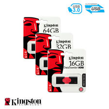 Kingston DataTraveler 106 16GB 32GB 64GB Flash Drive USB 3.0 Thumb Stick Memory