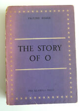 Ultra Rare The Story of O / 1st Edition 1954 Paris Olympia Press / One Owner