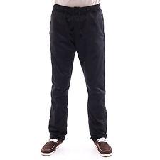 Unisex Black Chef Drawstring Pants Trousers Plain Uniform Pockets Workwear AU