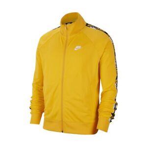 New Nike Sportswear JDI Full-Zip Yellow Jacket Just Do It CJ4782-739 Men's Xl