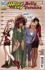 HARLEY & IVY MEET BETTY & VERONICA ISSUE 1 - DC COMICS ADAM HUGHES VARIANT