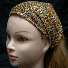 Leopard Print Wide Hair Band Head Headband Ladies Fashion Feeanddave